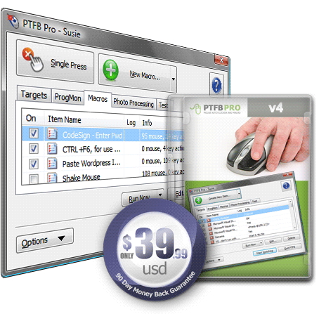 Click to view PTFB Pro 4.6.1 screenshot